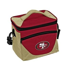 San Francisco 49ers Halftime Cooler Zipper Insulated Lunch Bag Box Tote 9pk NFL
