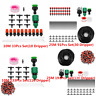 10M/25M DIY Water IRRIGATION Kit Micro Drip Watering Plant System Garden Hose L