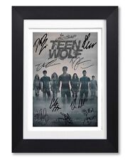 TEEN WOLF CAST SIGNED MTV TV SHOW SERIES SEASON POSTER PHOTO AUTOGRAPH GIFT