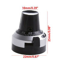 6.35mm Scale 3590S Dial Multi-Turn 10 Turns Potentiometer Pot Knob Cap HS7