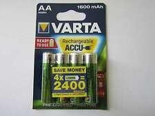 4x AA 1600mAh Akku Nickel-Hydrid HR6 Varta AR1880