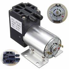 12V Mini Unterdruckpumpe Negative Druck Saug Pumpe 5L/Min 120kpa W / Halterung