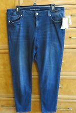 Women's Michael Kors basic angel blue wash jeans size 14 brand new NWT $110.00