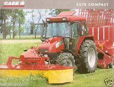 Farm Tractor Brochure - Case IH - CS75 Compact - 2000 (F3425)
