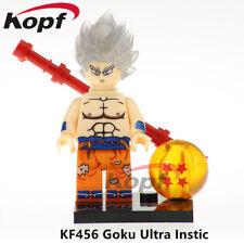 New Dragon Ball Z GOKU UNTRA INSTIC Lego Minifigure Building Block Free Shipping