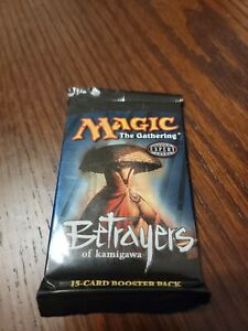 MTG - Magic The Gathering - Betrayers of Kamigawa - Factory Sealed Booster Pack