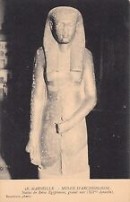 MARSEILLE 28 musée d'archéologie statue de reine égyptienne photo baudoin