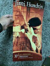 Jimi Hendrix Live At Woodstock Promotional Record Store Flat