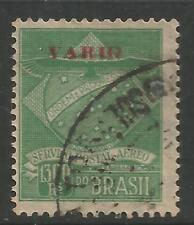 STAMPS-BRAZIL-VARIG. Michel: V1II. 1927. 1,300r with Small varig Ovpt in Red. FU