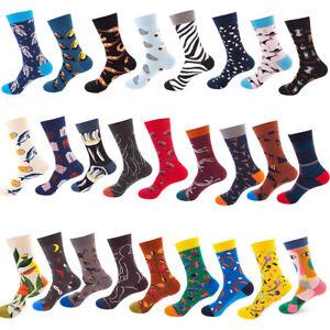 Color Cotton Trendy Personality Non-Slip Deodorant Men's And Women's Tube Socks