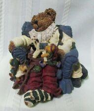 Boyds Bears Jolly ol' Saint Snoozen with Elves Bearstone Figurine 2001