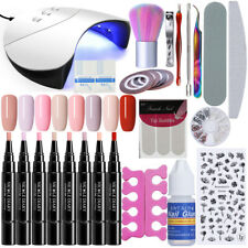 NICOLE DIARY 3 In 1 Soak Off UV LED Gel Polish 36W Lamp Nail Art Starter Kit
