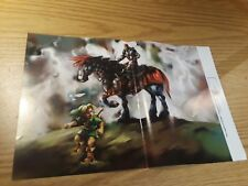 The Legend of Zelda: Ocarina of Time/Klonoa 15.5''x11.5'' Double Sided Poster