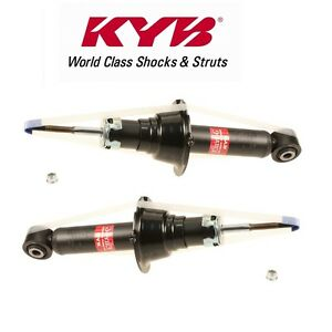 NEW Pair Set of 2 Rear KYB Shock Absorbers For Honda Insight 2012-2014