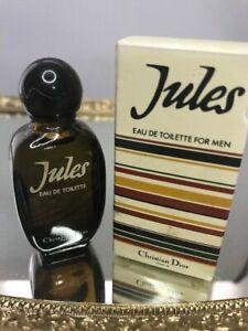 Jules Dior edt 9 ml. Rare vintage. Full.