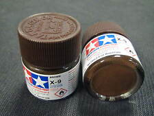 "Tamiya ""Mini"" Acrylic model paint - X-9 81509 Brown (gloss)"