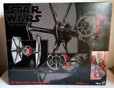 """Huge Star Wars Model - First Order Special Forces Tie Fighter & Pilot 24"""" H 60cm"""