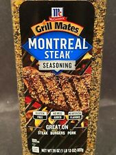 29oz McCormick Grill Mates Montreal Steak & Burger Seasoning Hamburger BBQ Spice