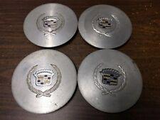 SET 1988-1991 Cadillac DeVille Machined Alum/Steel Center Caps #1641008 (4)  (: