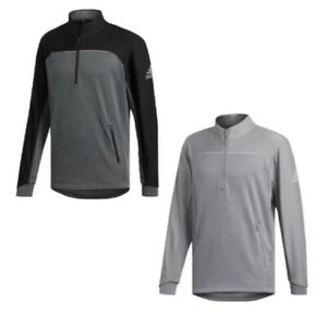 New Men's Adidas Golf Go-To Adapt 1/4 Zip Pullover - Choose Size & Color!