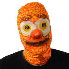 Baked Bean Breakfast Face 3D Effect Face Skin Lycra Fabric Face Mask Fancy Dress