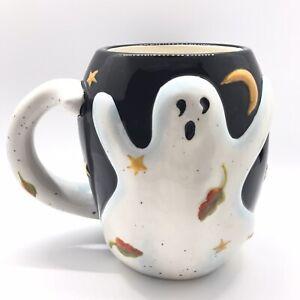 Ghost Halloween Mug Susan Winget Ceramic Certified International 22 fl oz Cup