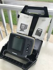Humminbird Wide 128 Portable Fish Finder W/ Box, No Batteries