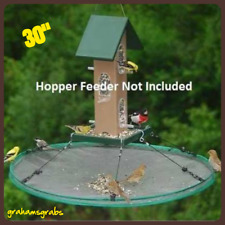 "Songbird Essentials Seed Hoop Seedhoop 30"" Seed Catcher Platform Bird Feeder New"