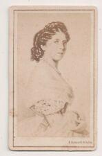 Vintage CDV Princess Augusta of Saxe-Weimar-Eisenach Empress of Germany