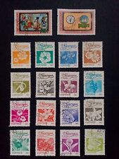 Nicaragua stamps -red cross- flowers-world food day 1982/83 see pics and descrip