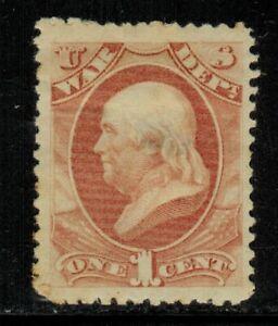 United States #O83 1873 MH