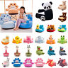 Baby Sofa Cover Cartoon Infant Seat Support Learn To Sit Chair Case w/0 Filler