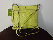 NWT $248 Kate Spade Reidy Perri Lane Bubbles  Light Green Leather Crossbody Bag
