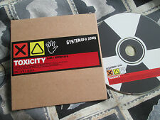 System Of A Down – Toxicity  Columbia – XPCD 1416 UK  Promo CD Single