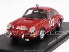 Porsche 911t #147 Rallye Monte Carlo 1965 Linge Falk 1 43 Spark