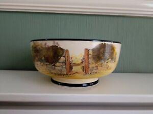 Royal Doulton 'Gaffers' Footed Salad Bowl D4210