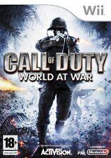Call of Duty World at War Wii Nintendo jeu jeux game games spelletjes 1704