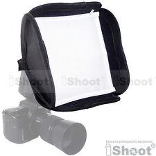 Mini flash soft box diffuser for flashgun Sunpak PZ42X PZ40X PZ30 Sigma 5300DG