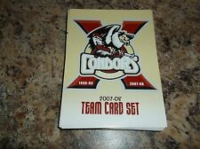 2007-08 BAKERSFIELD CONDORS TEAM SET