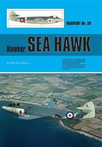 WPS29 NEW Warpaint Series Books 29 Hawker Sea Hawk