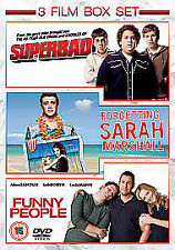 Funny People/Superbad/Forgetting Sarah Marshall [DVD], New DVD, Maria Thayer, Ja