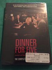 HTF Dinner For Five Season 1 Brand New DVD 2 Disc Set Jon Favreau