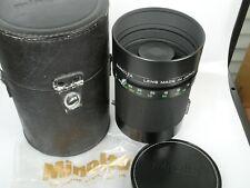 Minolta Spiegel Objektiv RF ROKKOR 800mm 1:8 for Leica R Mirror Lens NEUW. MINT