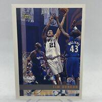 1997 Topps Tim Duncan Paper Rookie Card RC #115 NBA Basketball Card Spurs
