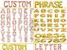 "Gold & Rose Gold 16"" Alphabet A-Z Letter Number Foil Balloons NAME PARTY WEDDING"