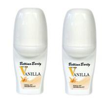 Bettina Barty Vanilla Roll On Deodorant  2 Stück je 50 ml Sparangebot !!!