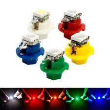 50Pcs T5 B8.4D 5050 1SMD LED Dash Indicator Gauge Dash Side Light Bulb 5 Colors