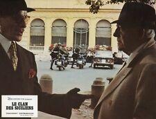 JEAN GABIN  LE CLAN DES SICILIENS 1969 VINTAGE LOBBY CARD ORIGINAL #6