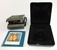 Vintage Polaroid Spectra Instant Camera with Original Case & Manual Untested
