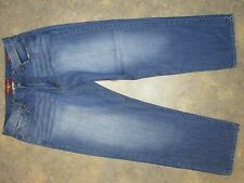 LUCKY BRAND 181 RELAXED STRAIGHT MEN'S  ZIP FLY JEANS SIZE 37X29.5